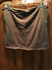 CACHE WOMEN'S GREEN TUBE TOP SIZE L NEW