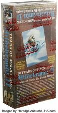 1993 Greg Hildebrandt Series 2-30 years Magic Trading Card Box (48) Autographed