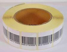 Eas Anti-Theft Checkpo 00004000 Int Security Soft Label Tag 5000Pcs Rf 8.2 Mhz (30Mmx40Mm)