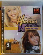 Gioco PS3 Sony PlayStation 3 Hanna Montana The Movie Walt Disney Halifax ITA New