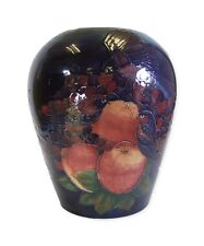 Moorcroft Finches Pattern Large Vase - Stunning 1990's Item - Made in England!