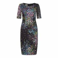 017079f5a2 Hobbs Lauren Navy Multi Silk Dress Size 8 £ 169.00