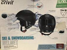 Ski & snowboard helmet( Black) New (L/XL)