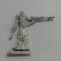 Warhammer Dark Eldar Haemonculus unpainted metal model Rare OOP
