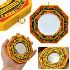 Chinese Feng Shui Dent Convex Bagua Mirror Lucky Blessing House Protection New