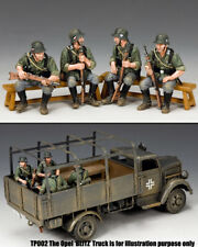 King & Country Ww2 German Army WH048 Wehrmacht Sitting Soldiers MIB