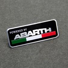 Auto Car Aluminum ABARTH Emblem Badge Decal Sticker For FIAT 124 125 500 695