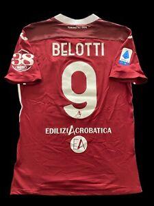 Andrea Belotti Match Worn 2020/2021 Torino FC Home Shirt