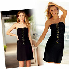 JOB-LOTx6 PARTY Body-illusion DRESS.Size=10/12.BLACK..HOLIDAY/CLUB?Sexy.B32 1NP