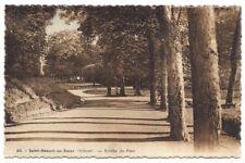 saint-honoré-les-bains , entrée du parc