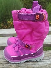 4.5 12M Stride Rite Baby Girls Made 2 Play M2P Sneaker Winter Boot Pink Toddler