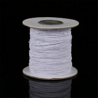 Wholesale Round 1mm 2mm Elastic Stretch Cord Beading String Thread 5 Metres