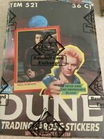 1984 Vintage Dune Wax Box (36) Unopened Packs Fleer BBCE Authenticated Free Ship