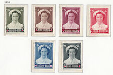 Mint Hinged Red Cross Postage European Stamps