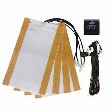 chauffage de siege,square 2-dial switch,auto seat heater,seat heater kit.2 siège