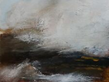 Overlapping Original abstract landscape painting- contemporary art