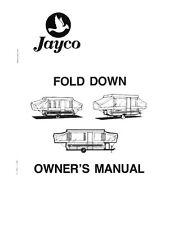 1985 Jayco J-Series 1208 1008 806 705 Popup Trailer Owners Manual