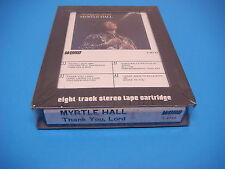 Myrtle Hall,8 Track Tape,Still Sealed.Thank You Lord,How Wonderful Thou Art