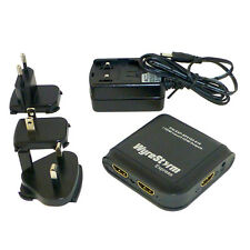 Wyrestorm 2 Way Hdmi Splitter Activo Amplificador 3d 1080p sp-0102