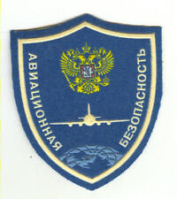Russian Aviation Safety LOGO Patch  Service