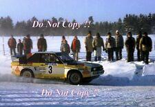 Hannu Mikkola Audi Quattro Sport Swedish Rally 1985 Photograph 1
