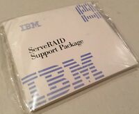 IBM ServeRAID Support Package New Factory Sealed 01K7673 Server Aid