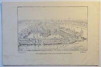 Vue d´ensemble du Palais de Justice ... - Holzstich - ca. 1880 -