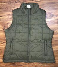 Lady Footlocker Sport Vest. Size Large . Green. Sport Vest. Winter Vest.