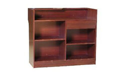 Register Stand Counter Showcase Display Cabinet #LTC4C