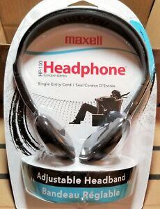 Maxell HP-100 Headband Headphones 190319 - Black