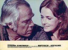 LEE MARVIN  JEANNE MOREAU MONTE WALSH 1970 VINTAGE LOBBY CARD #2
