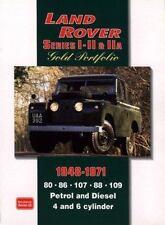 LAND ROVER SERIES I, II, IIA 1948-1971 -GOLD PORTFOLIO - CLARKE, R. M. - NEW PAP