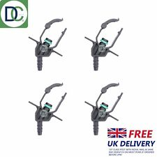 4 x Delphi Injector Back Leak Off Connectors for Ford Mondeo 2.0 TDCi
