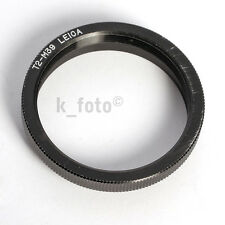 Adattatore t2-m39 Leica * LTM lenses into t2 mounts