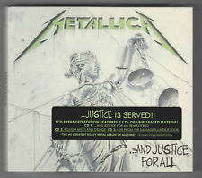 METALLICA - ...AND JUSTICE FOR ALL - 3 x CD, REMASTERED, EXPANDED, NOWY, FOLIA