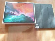 Apple iPad Pro 12.9in 4th Gen 256GB WiFi & Cellular 4G (2020) Grey + Extras NEW