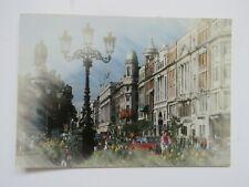 Unusual Vintage 1997 Dublin Road Scene Real Photo Postcard