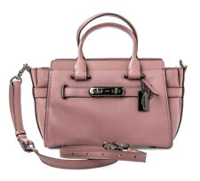 Coach swagger 27 dusty rose pink Style 87295 leather handbag bag New