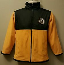 Boston Bruins NHL Boys/Girls Youth Full Zip Collar Sweatshirt/Jacket:XS-XXL