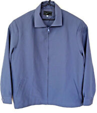 'The Collection By Image' Mens Light Blue UK L Full Zip Polyester Jacket Gents