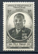 STAMP / TIMBRES COLONIES FRANCAISES NEUF AEF GOUVERNEUR EBOUE N° 206 **