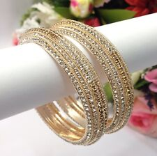 Indian Stone Bangles Size:2.4 Bollywood Asian Pakistani Bridal Wedding Jewellery