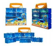 HOTWHEELS MULTIBRICK 8 SLOT CAR CASE (CARS NOT INCLUDED)