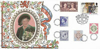 1995 QUEEN MOTHER 95th BIRTHDAY MULTI STAMPED BENHAM FIRST DAY COVER MULTI SHSs