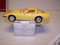 1992 Corvette ZR1 Promotional Model Promo In Original Box Yellow 6575