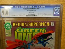 10/1993 Reign of Superman Green Lantern #46 Graded Comic Book Graded 9.0 CGC