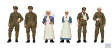 36-409 Scenecraft OO/HO Gauge WW1 Medical Staff and Soldiers