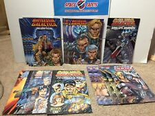 Battlestar Galactica Enemy Within Journey's End Starbuck Lot Of 17 Comics