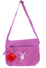 Ladies Cotton Canvas bunny girl messenger shoulder bag