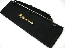 SPYDERCO Black Large SPYDERPAC 30 Folding Pocket Knife Carrying Case Pack! SP1